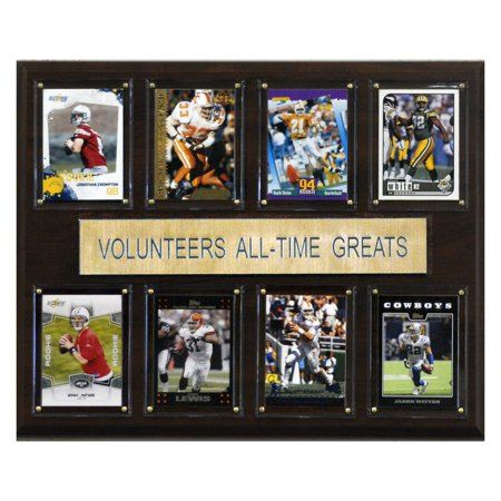 Tennessee Volunteers Wall - C&I Collectables NCAA Football 12x15 Tennessee Volunteers All-Time Greats Plaque