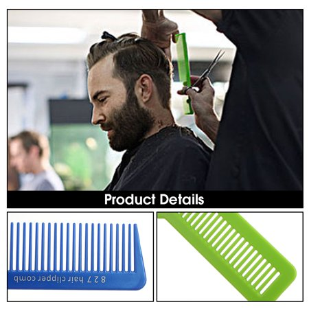 Professional Haircut Comb for Barber Hair Styling & Grooming Tool Haircutting Clipper Flattop Comb - image 6 of 7