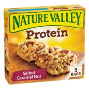Nature Valley Chewy Granola Bar Protein Salted Caramel Nut 5 Bars