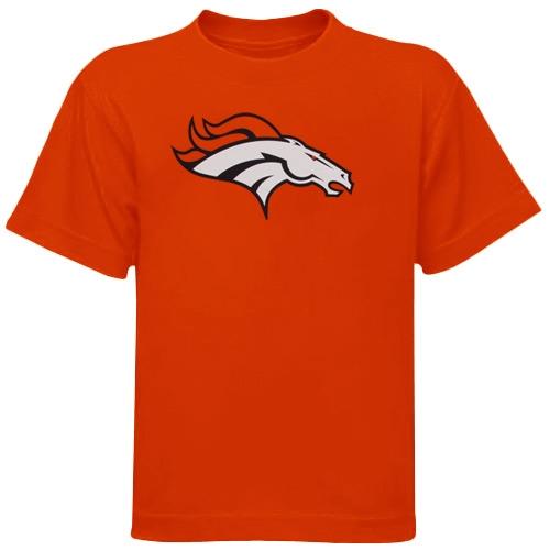 Denver Broncos Preschool Team Logo T-Shirt - Orange