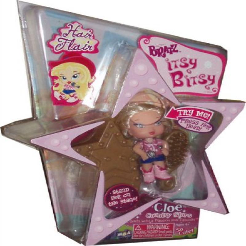 MGA Itsy Bitsy Bratz Hair Flair Country Stars Cloe by