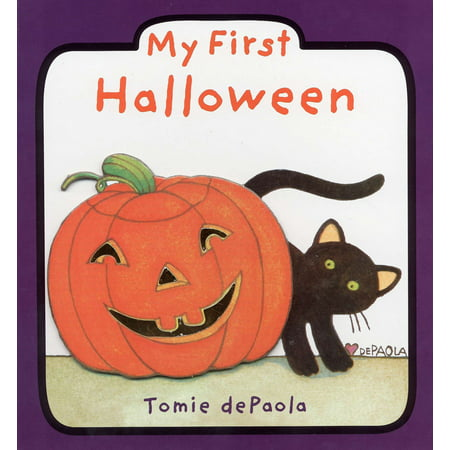 My First Halloween (Board Book) - Halloween Books For Kindergarteners