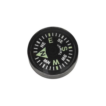 Survival Button Compass - Grade AA 20mm - 8hr Luminous, Up to 8 Hours of High Luminosity By OEM - Oem Home Button