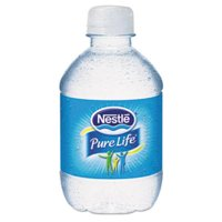 Nestle 11475642 Pure Life Purified Water, 8 Oz Bottle, 48/carton