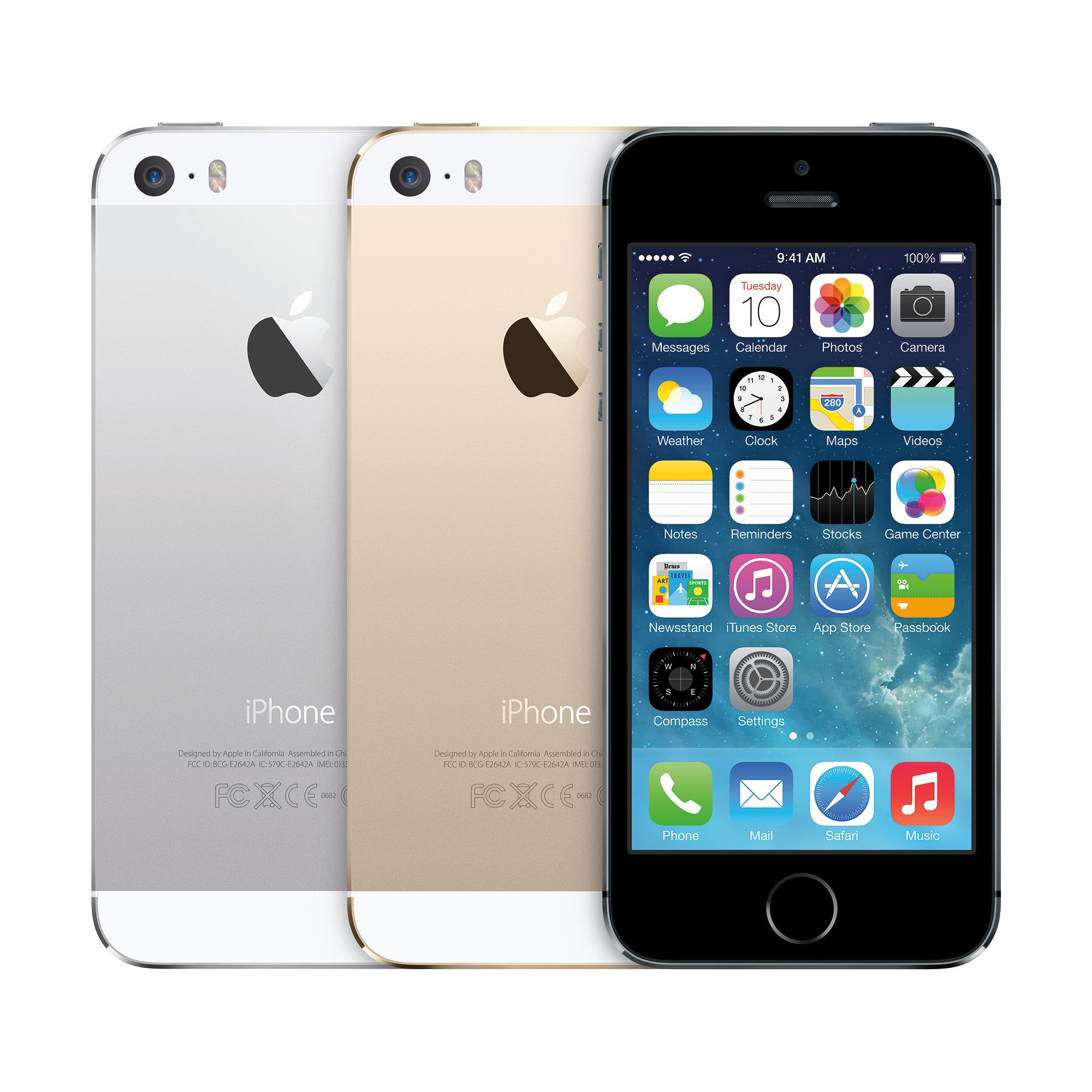 Total Wireless Apple iPhone 5S 16GB Prepaid Smartphone - Walmart.com