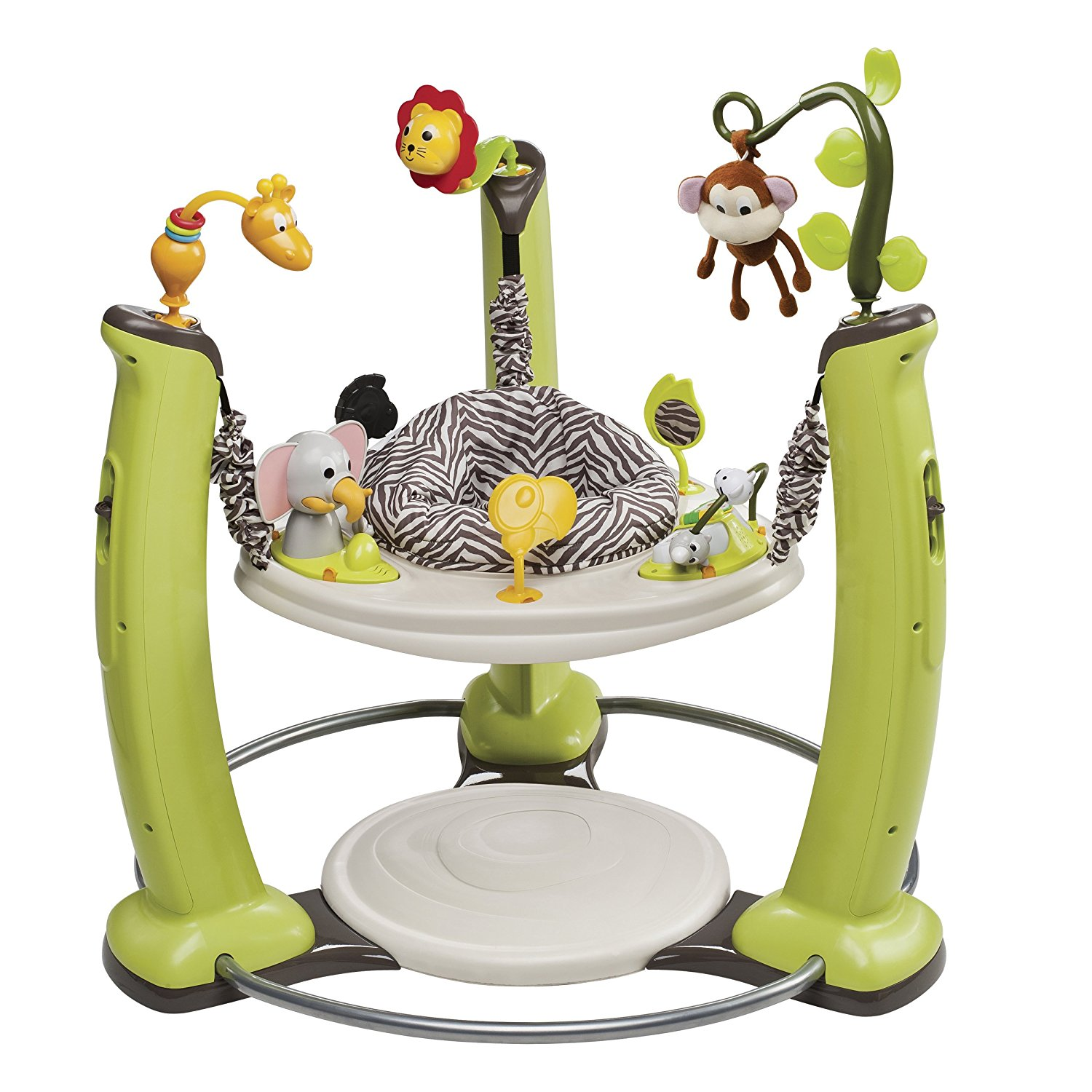 Evenflo ExerSaucer Jump & Learn Stationary Jumper - Jungle Quest