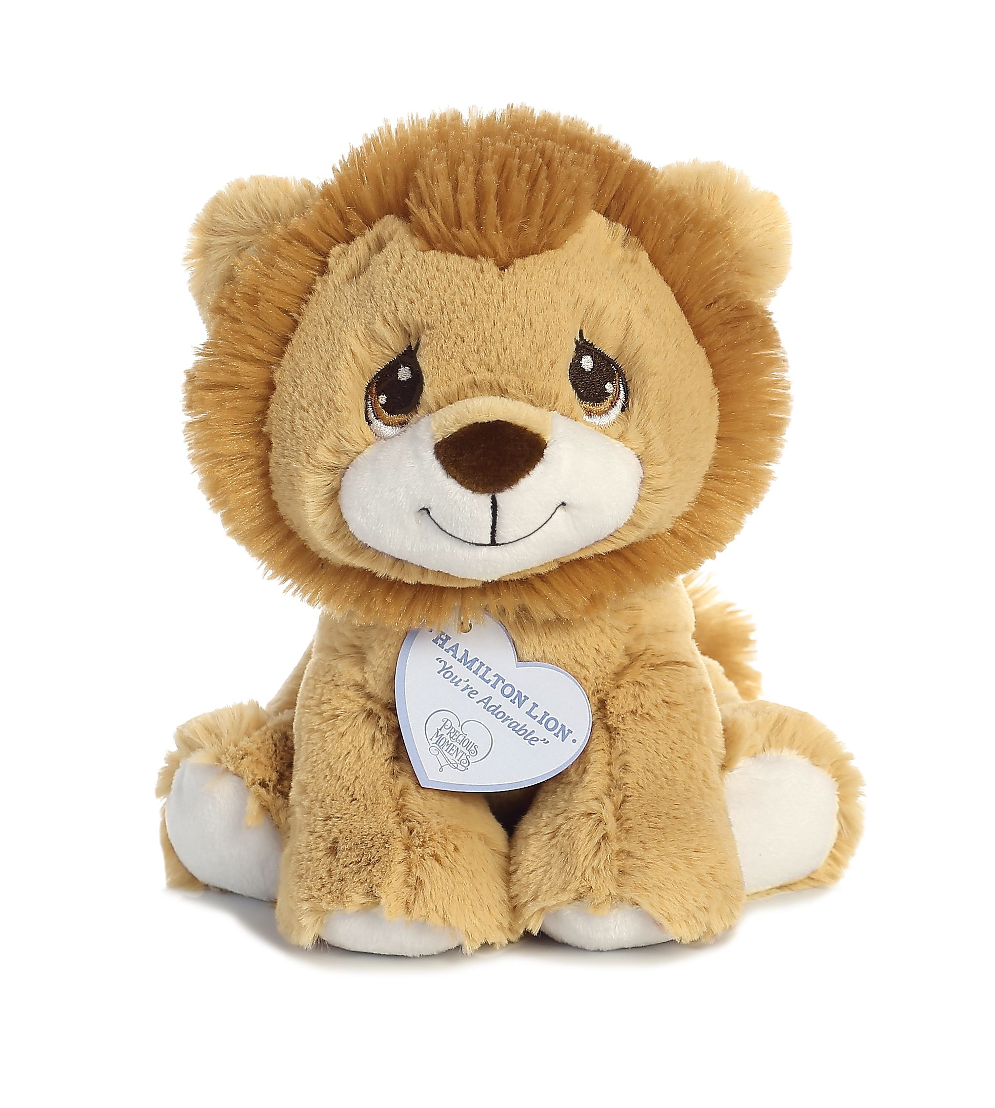 Hamilton Lion 8 inch Baby Stuffed Animal by Precious Moments (15710) by Precious Moments