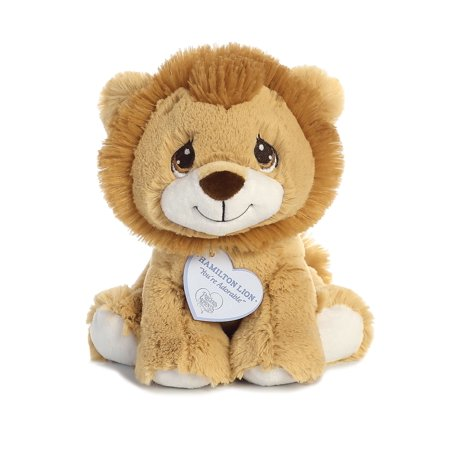 Hamilton Lion 8 inch - Baby Stuffed Animal by Precious Moments (15710) - Anime Babies