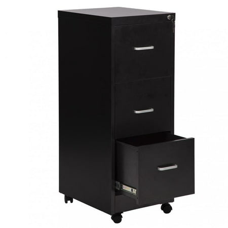 3-Drawer Letter File Full-Suspension 18