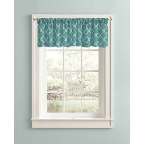 "Better Homes and Gardens Trellis Valance, 60"" x 14\ by Colordrift LLC"