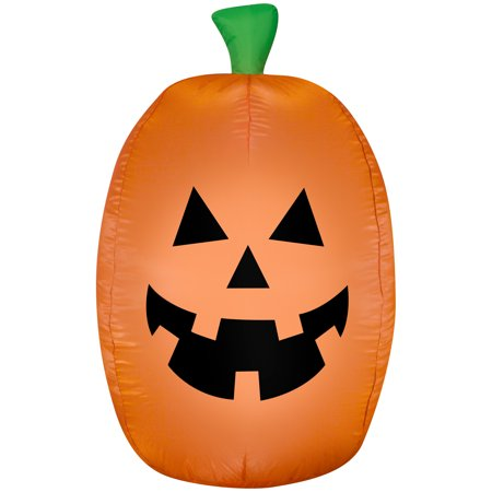 Halloween Airblown Inflatable Jack-O-Lantern 4FT Tall by Gemmy Industries - Halloween Jackolanterns