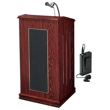 Oklahoma Sound Lwm Sound Lectern Wireless Lavalier Mic Mahogany