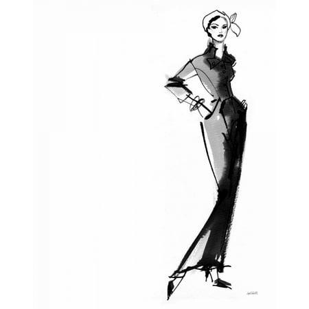 Fifties Fashion III Poster Print by Anne Tavoletti](Fifties Theme)