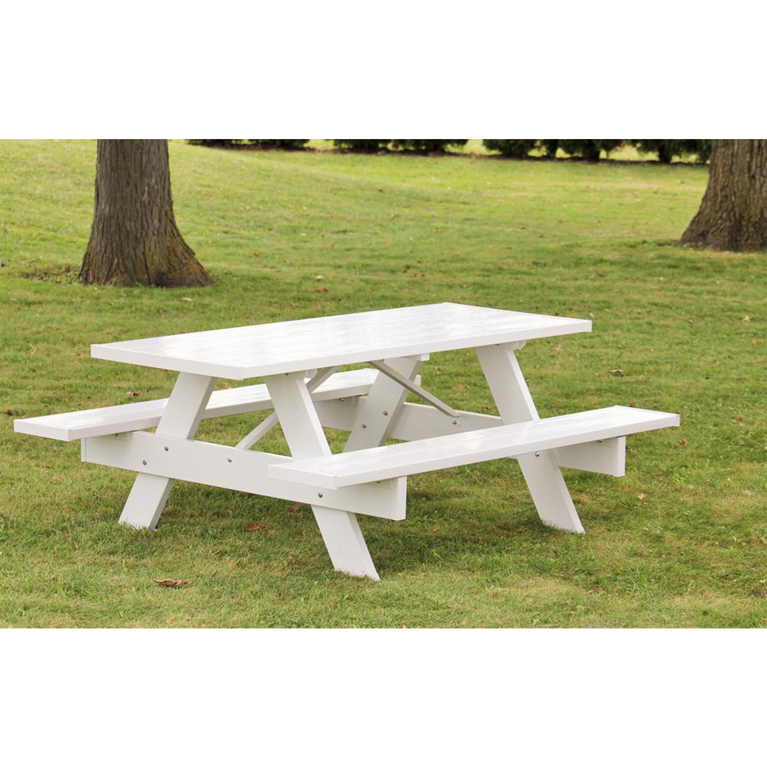 Stainless Steel Bathroom Vanity Cabinet, Dura Trel Backyard Outdoor Lightweight 72 Inch Picnic Table With Benches White Walmart Com Walmart Com
