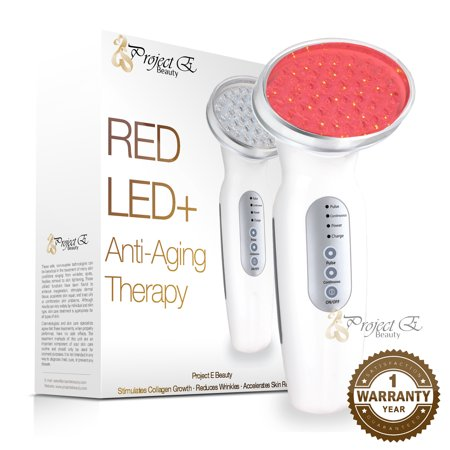 Red Light LED Light Therapy Collagen Boost Skin Firming Lifting Light Control Sensor Facial Beauty Device