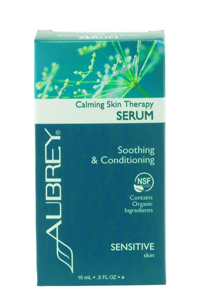 Calming Skin Therapy SERUM Soothing & Conditioning -Sensitive Skin Aubrey Organics 0.5...