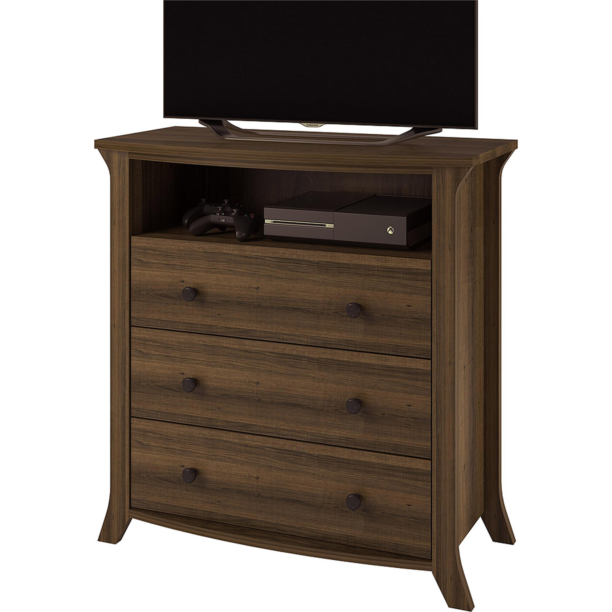 kids bedroom drawer tv stand media center video gaming storage dresser wardrobe 696394162136 ebay. Black Bedroom Furniture Sets. Home Design Ideas