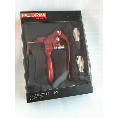 Lever Corkscrew Gift Set 3 Pcs by, Lever Corkscrew Gift Set 3 Pcs by Pedrini By Pedrini ()