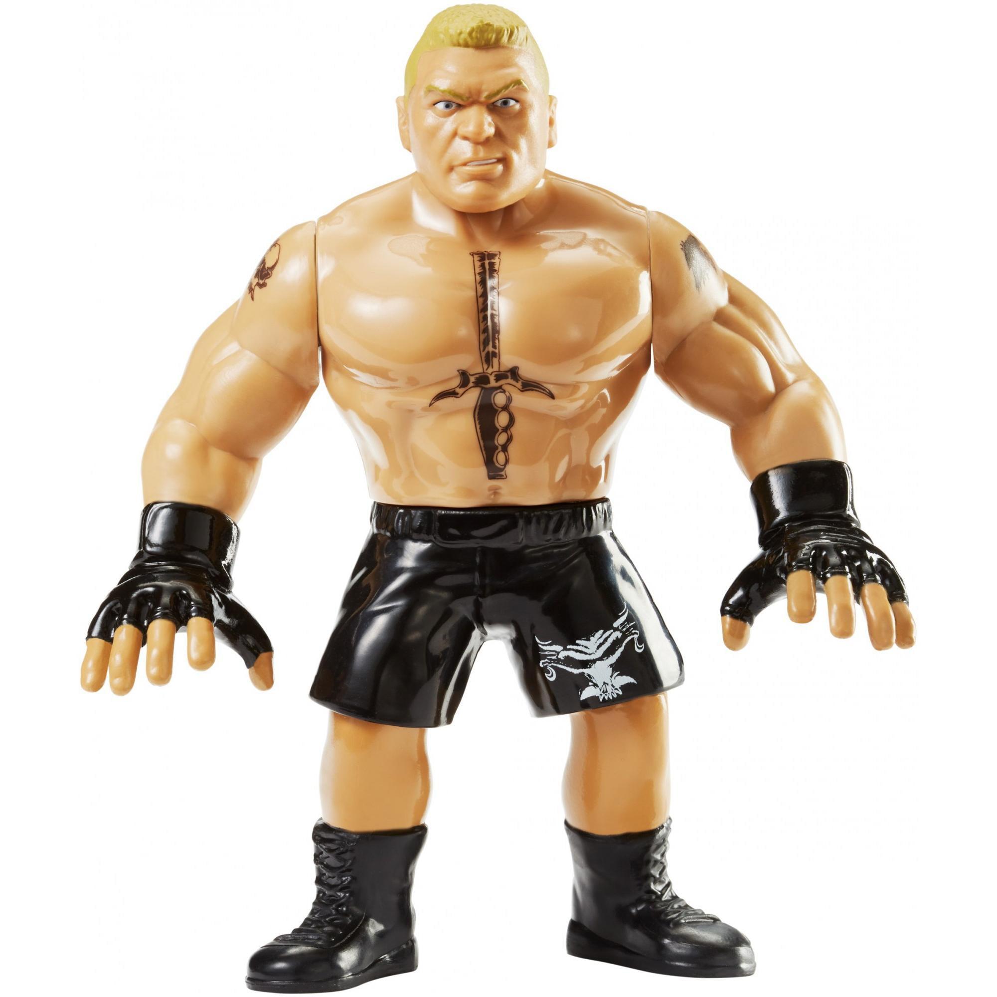 WWE Brock Lesnar Retro Figure by Mattel