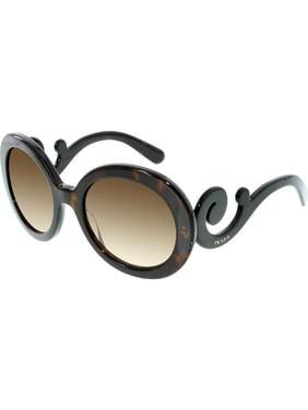 0a5b31cea2a Product Image Prada Women s Gradient PR27NS-2AU6S1-55 Tortoiseshell Round  Sunglasses