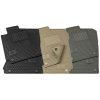 Mercedes-Benz OEM All Weather Season Floor Mats 2007 to 2012 GL-Class (Set of 4) (Color:Grey)