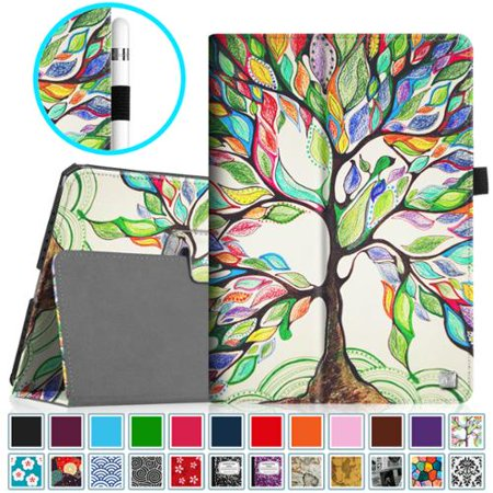 Fintie Apple iPad Pro 9.7 Case - Premium PU Leather Folio Smart Cover with Auto Sleep / Wake Feature, Love Tree