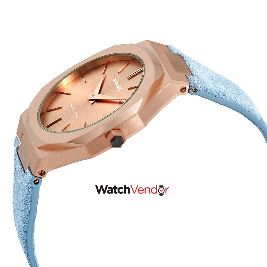 D1 Milano Ultra Thin Rose Gold Ladies Watch A-UTL04 - image 1 of 3