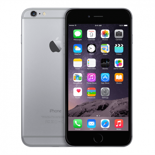 Refurbished iPhone 6 Plus Space Gray T-Mobile 16GB (MGAX2LL/A) (2014)