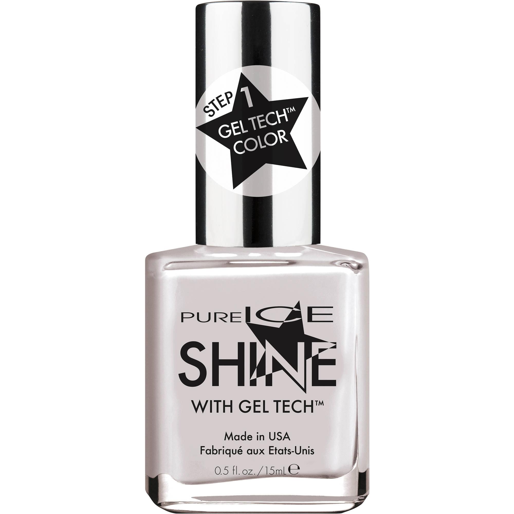 Pure Ice Shine with Gel Tech Nail Polish, He Rocks My World, 0.5 fl oz