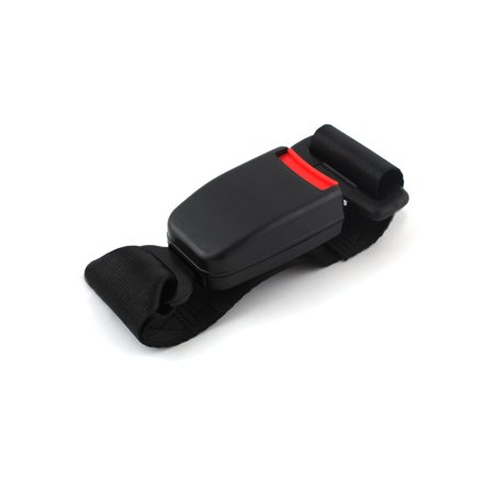 Black Car Auto Seat Belt Extender Use For Buckle 22mm Wide