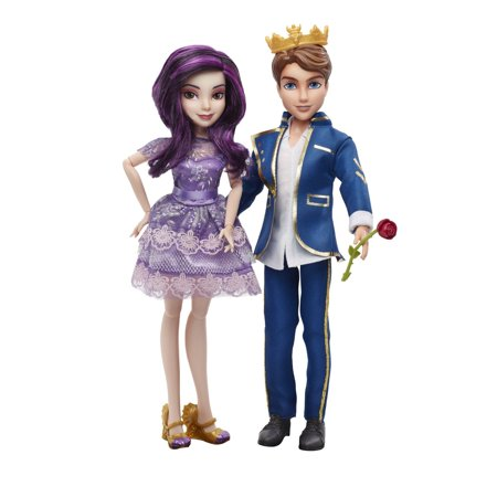 Disney Descendants Two-Pack Mal Isle of the Lost and Ben Auradon Prep