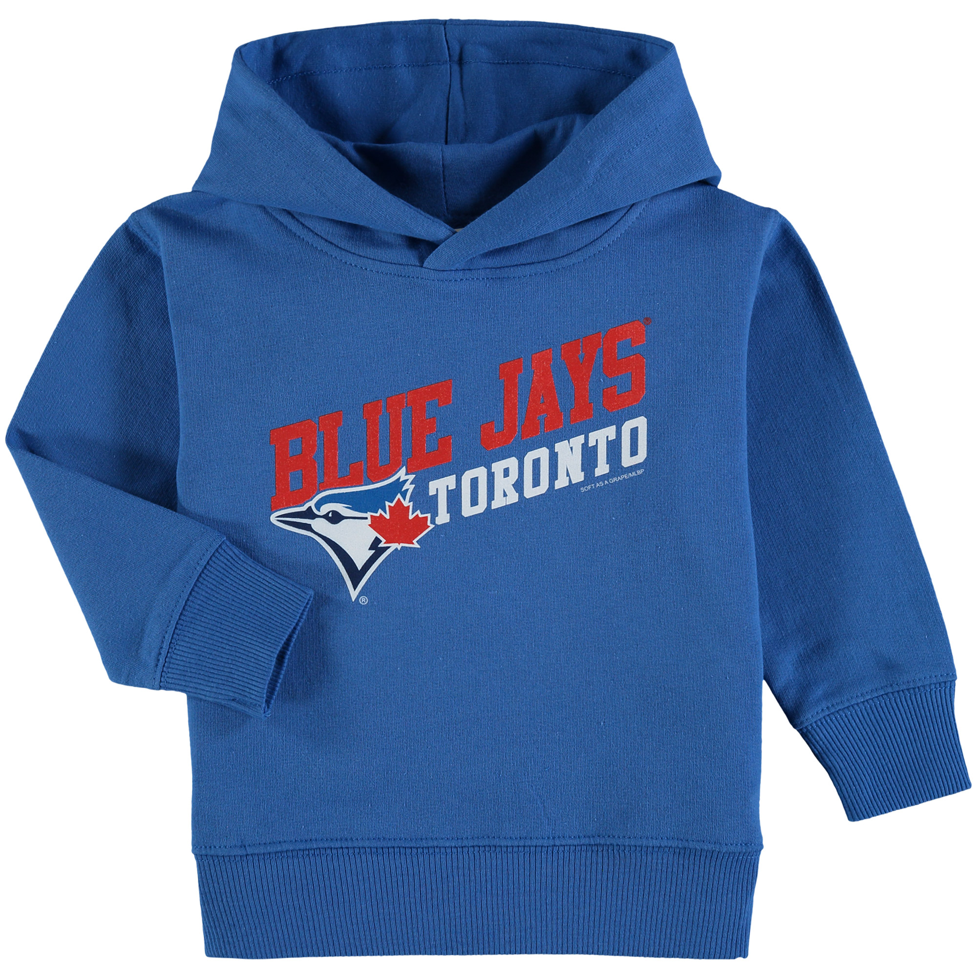 Toronto Blue Jays Soft As A Grape Toddler Scoring Position Pullover Hoodie - Royal