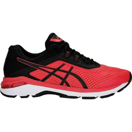 ASICS AST805N 600 10.5 Mens GT-2000 6 Running Shoe, Red Alert/Black, Size
