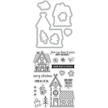 Hero Arts Stamp & Die Cut Gingerbread House