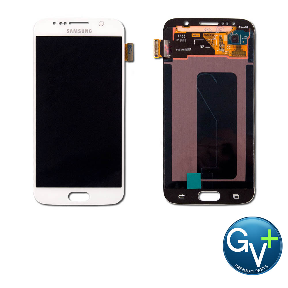 OEM Touch Screen Digitizer and LCD for Samsung Galaxy S6 - White Pearl (SM-G920)