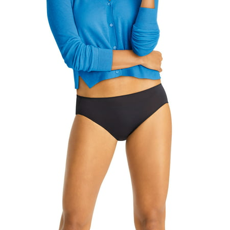 Hanes Women's Cool Comfort Microfiber Hipster Panties, 10-Pack Microfiber Stretch Hipster Panty