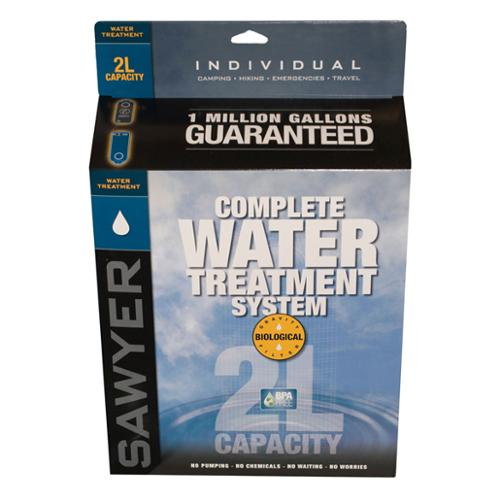 Sawyer Products 2-Liter Complete Water Treatment System