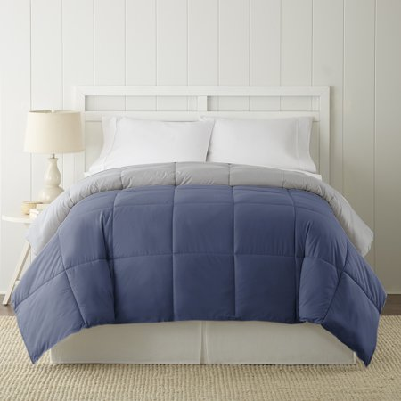 Reversible Down Alternative Comforter Multiple Colors - (Pacific Coast European Comforter With Pyrenees Down)