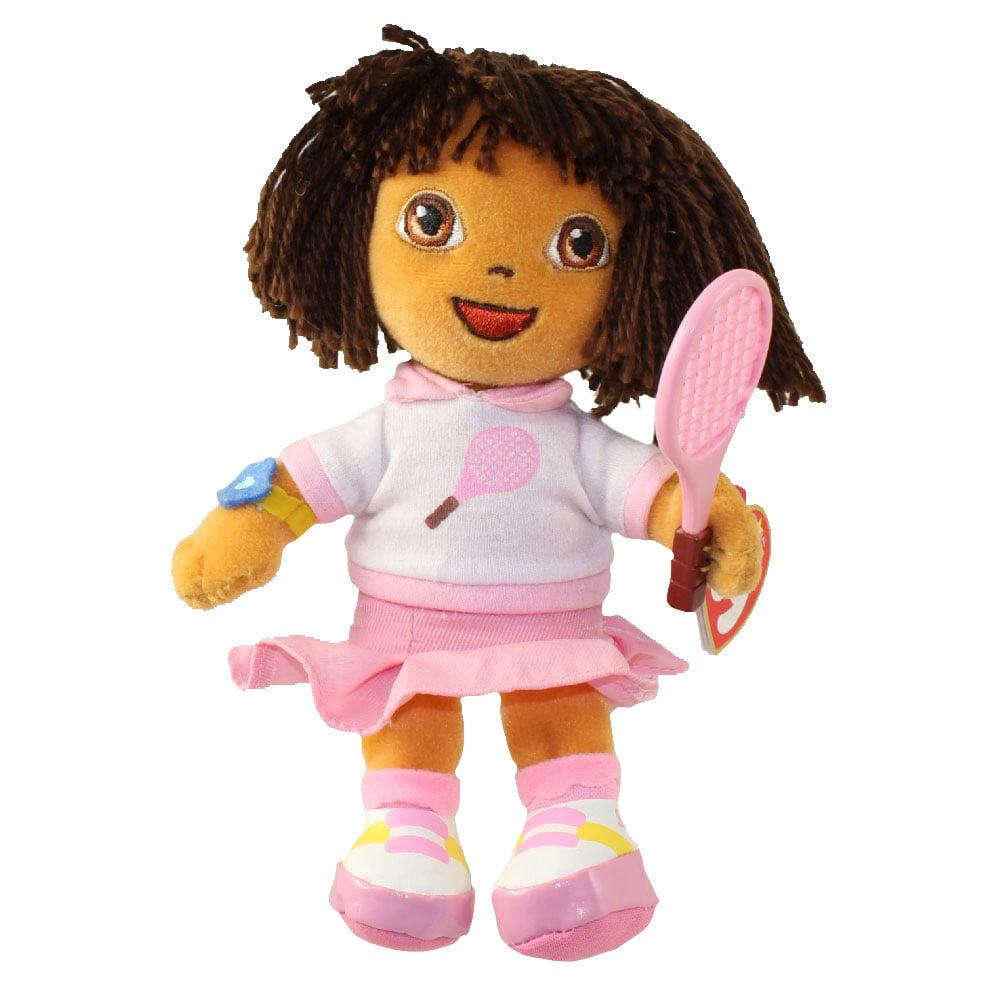 TY Beanie Baby DORA the Explorer (Dora Del Tenis Version) (7 inch) by TY Inc