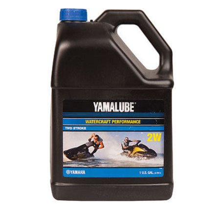 Yamaha Yamalube PWC WaveRunner 2 Stroke Engine Inject Oil LUB-2STRK-W1-04 Gallon