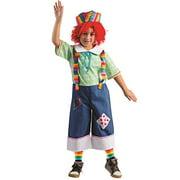 Rainbow Rag Boy Costume - Size Small 4-6