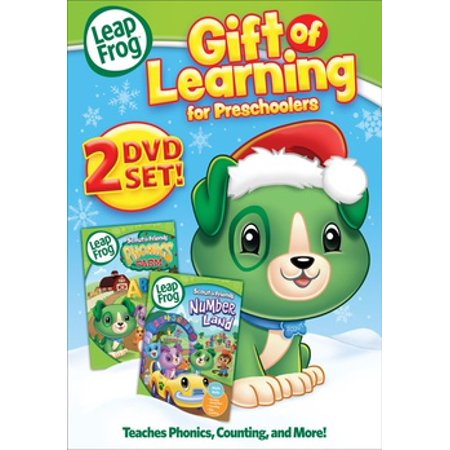 Leapfrog A Tad Of Christmas Cheer Dvd.Leapfrog Gift Of Learning Double Feature Dvd Best Dvd Movies