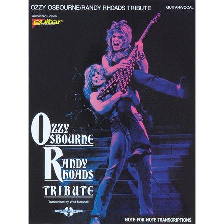 - Hal Leonard Ozzy Osbourne / Randy Rhoads Tribute Guitar Tab Songbook