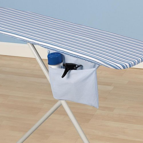 Mainstays Reversible Ironing Board Cover and Pad, Blue Stripes