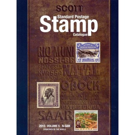 Scott Standard Postage Stamp Catalogue 2015: Countries of the World N-Sam