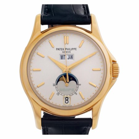 Pre-Owned Patek Philippe Annual Calendar 5125J-00 Gold Watch (Certified Authentic & Warranty)