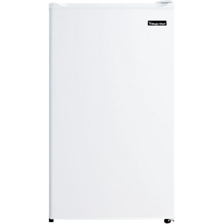 Magic Chef 3.5 Cu. Ft. Refrigerator with Full-Width Freezer Compartment in