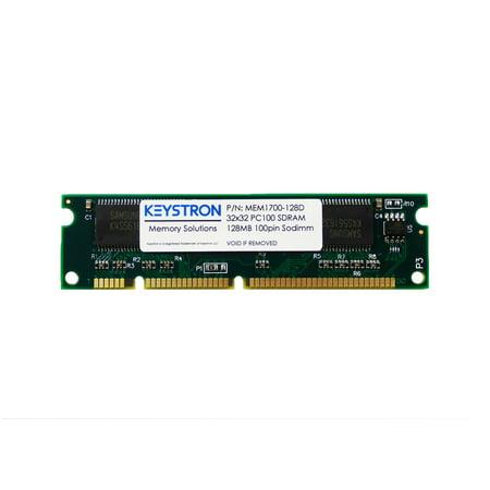 - 128MB Cisco 1760 Router Dram Memory (p/n MEM1700-128D, MEM1760-128D) 1760V 1760-V