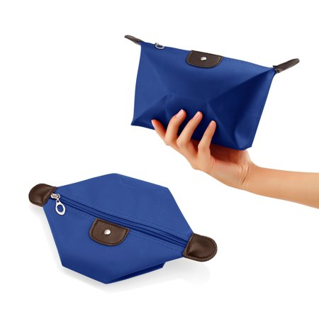 Travel Cosmetic Bag Storage Pouch Purse Makeup Case Multifunction Toiletry Zipper Organizer Handbag ()