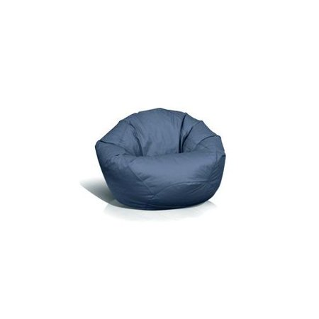 American Furniture Alliance Fun Factory Clic Jumbo Bean Bag Navy